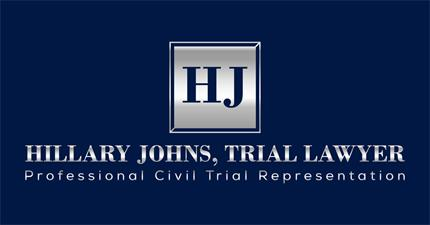 Hillary Johns, Trial Lawyer