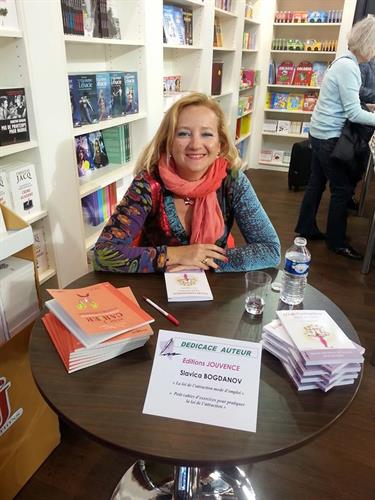 Book signing Paris Book Fair 2014