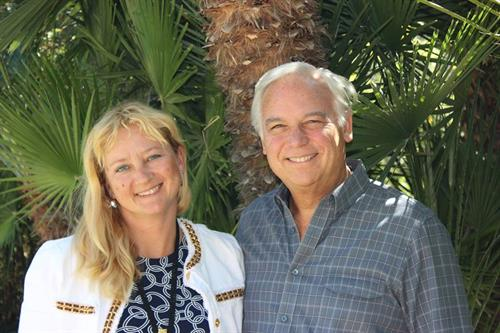 With Jack Canfield in Santa Barbara