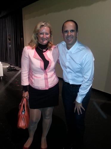 With Marcus Lemonis in Washington (inc Conference)
