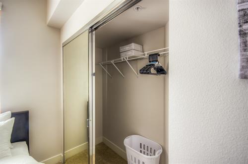 Wilshire Corridor - Guest Closet