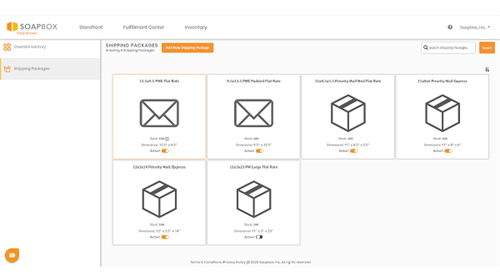Shipping Packages Overview