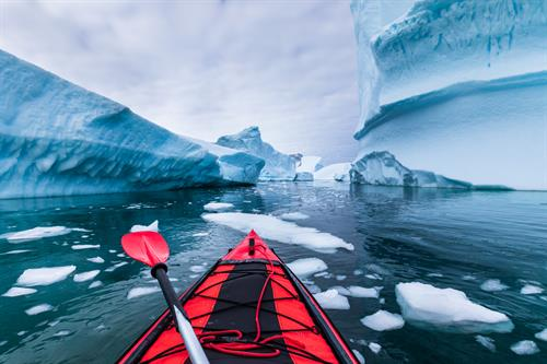 Connect with fellow travelers who enjoy adventures like glacier kayaking.
