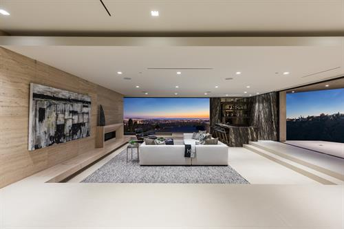 Staging project in Beverly Hills