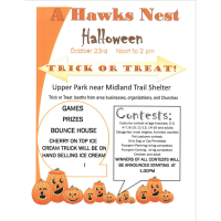 Hawk's Nest Halloween