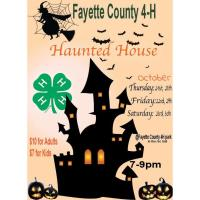 Fayette County 4-H Haunted House