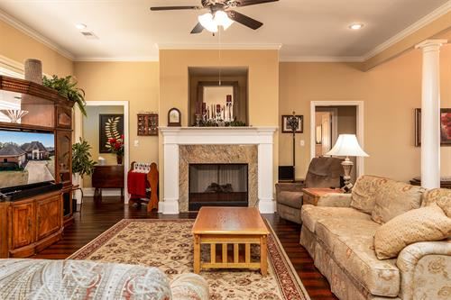 living room at Hernando home