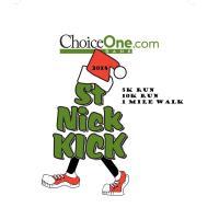 ChoiceOne Bank St. Nick Kick 5k/10k Run/Race & 1 Mile Walk