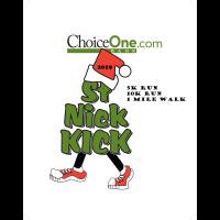 ChoiceOne Bank St. Nick Kick 5k/10k Run/Race & 1 Mile Walk 2019