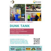 Northern Physical Therapy Dunk Tank 2021