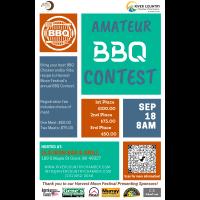 2021 Harvest Moon Festival Amateur BBQ Cooking Contest