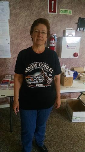 Sandy Corley - Sponsor