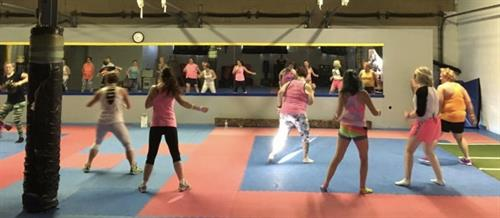 Dance fitness party fun!