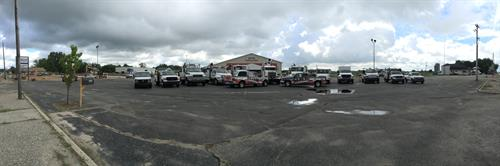 MHK Equipment Services mobile repair fleet, ready to help you