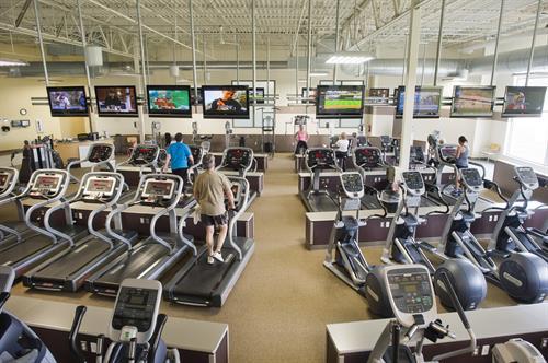Tamarac's fitness floor
