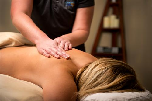 Massage therapy at The Skincare Center & Spa at Tamarac