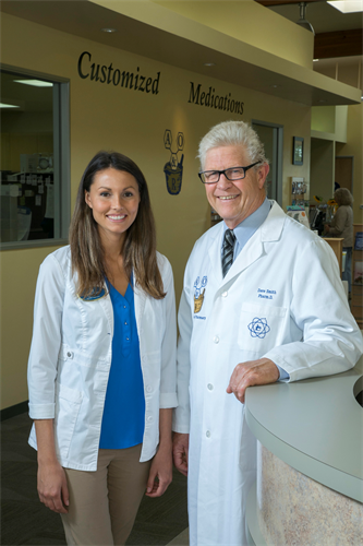 Serena Smith PharmD  and Dave Smith PharmD.