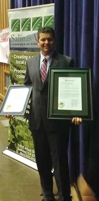 "Salinas Valley Chamber of Commerce ""Business of the Year"""