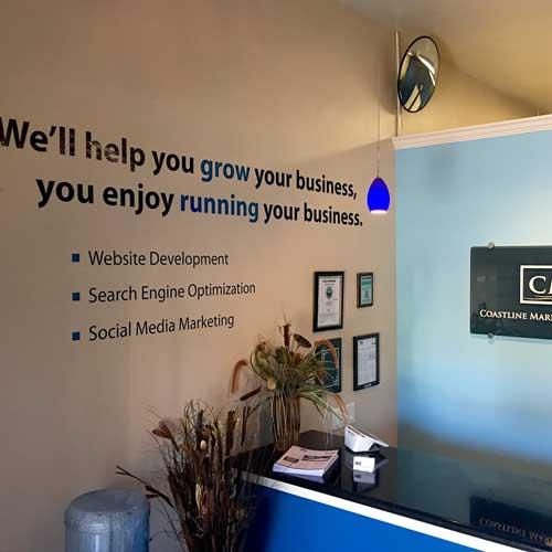 Coastline Marketing Group Lobby