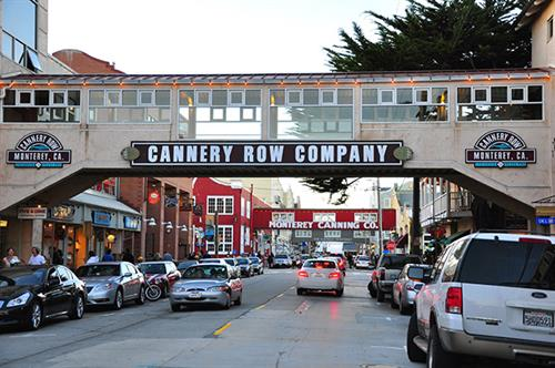 Cannery Row Signage in Monterey