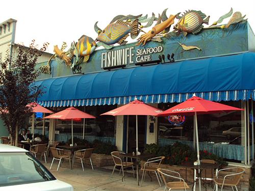 Fishwife - Signs in Seaside