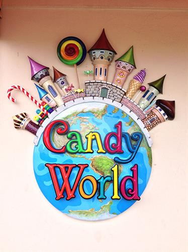 Candy World in Monterey