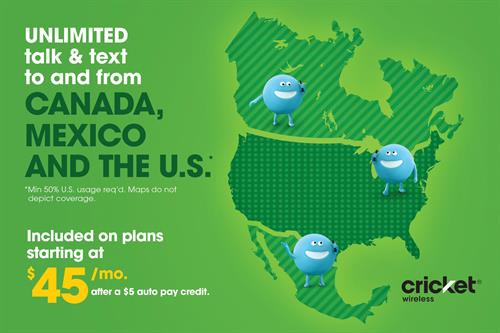 Cricket Wireless Traveling To Canada