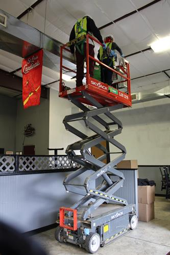 Commerical Fire Damage Restoation