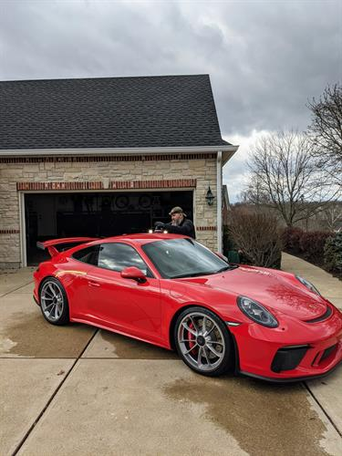 Porsche 911 GT3 — Paint Correction (Getting rid of those pesky swirl marks)