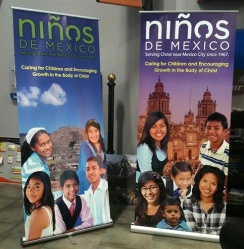 Custom Banners and Posters have a quick turnaround time and impactful results.  Call Ziglin Signs today.