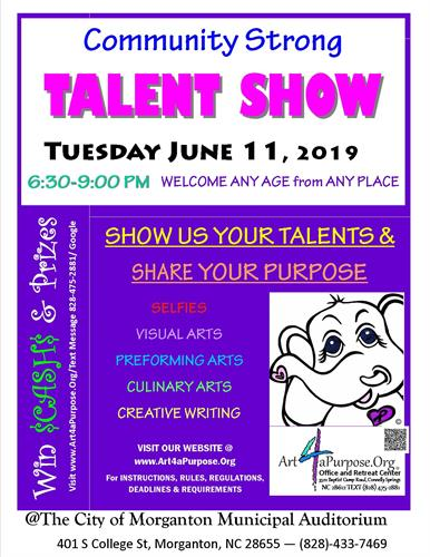 CELEBRATE THE ARTS WITH US - JUNE 11 2019