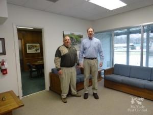 Pres. Scott McNeely & Vice Pres. Frank Fowler