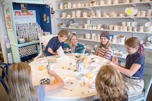 Creativity Flows at Cottage Pottery!