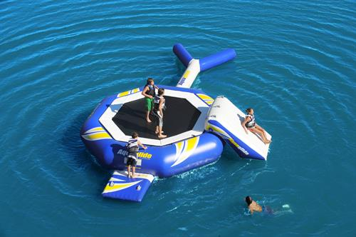 We are the place for Water Trampoline Rentals!