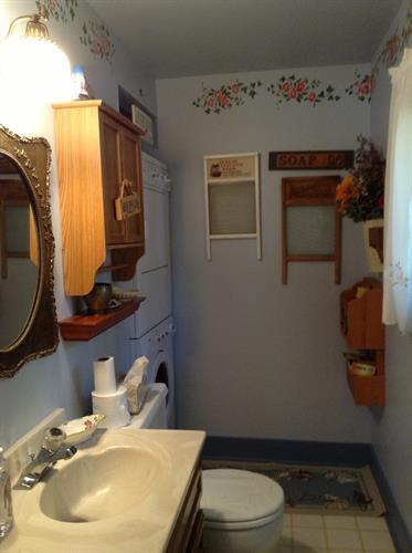 First Floor Bathroom and Laundry Facilities