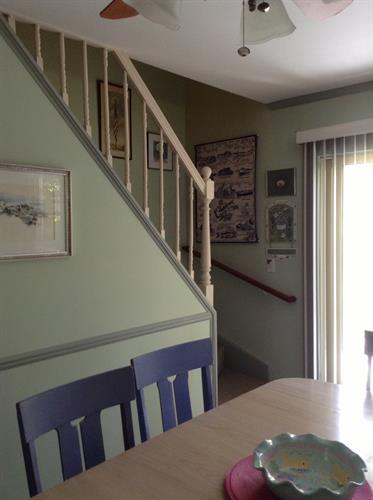 Stairway to 2nd Floor Bedrooms upstairs