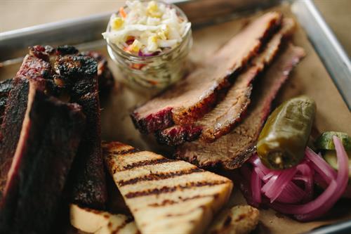 Brisket, Ribs, & Texas Toast