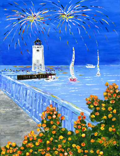 Celebrate Charlevoix! Venetian 2008 Study Painting available as Prints • Note Cards • Magnets