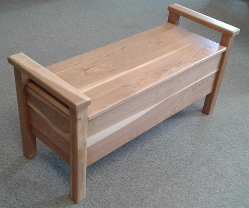 Cherry Bench - Natura Finish
