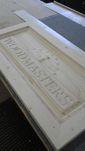3-D Custom Signs - made on our CNC 3D Router