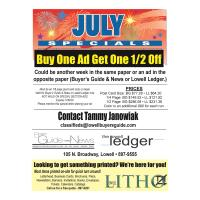 Lowell Ledger/Litho/Buyer`s Guide - Lowell