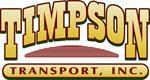 Timpson Transport, Inc.