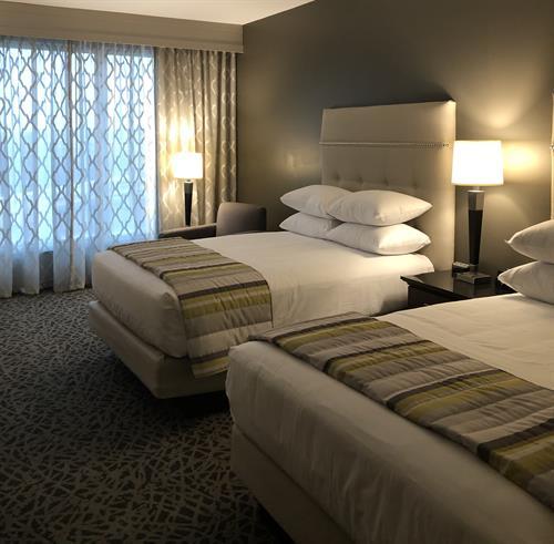 Double Queen Standard Deluxe Guestroom