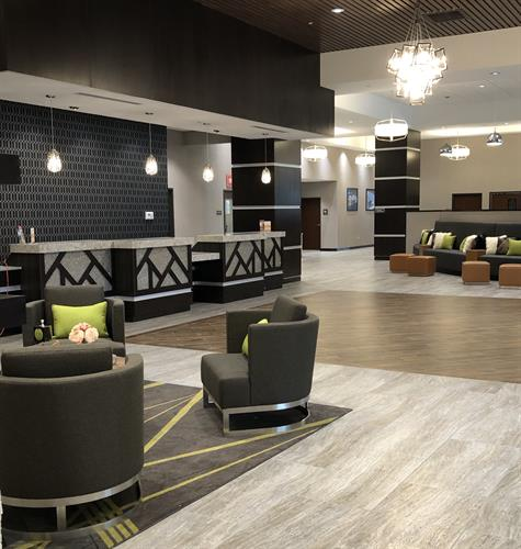 Hotel Lobby Registration