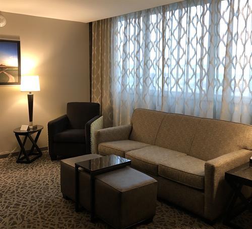 Suite Upgrade Sitting Area