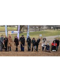 City breaks ground on new inclusive playground