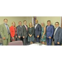 Congressmen Taylor and Allred meet with chamber delegation