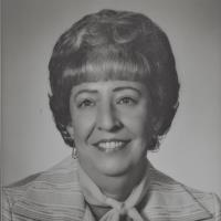 Richardson's first woman president in 1976