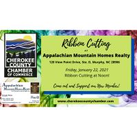 Ribbon Cutting Appalachian Mountain Homes Realty