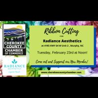 Ribbon Cutting Radiance Aesthetics